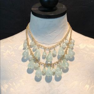 A new day gold chain multi layer necklace